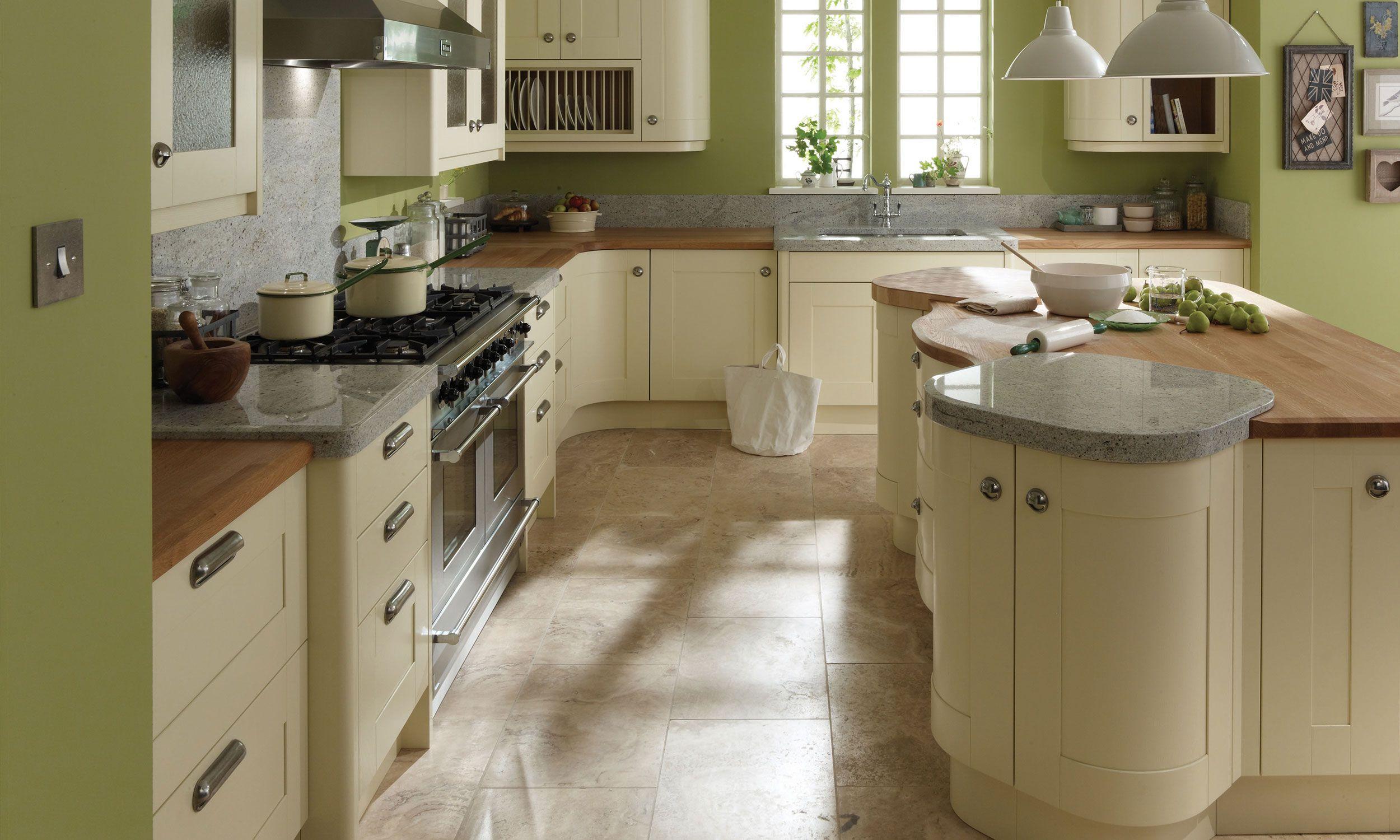Broadoak Kitchen Green kitchen designs, Kitchen design