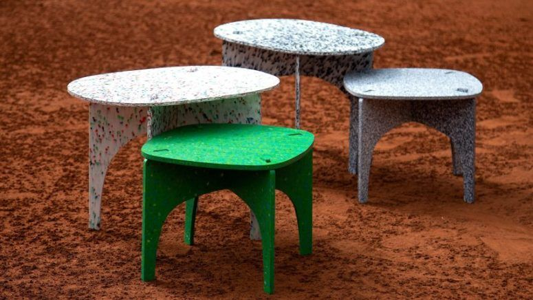 Eco Friendly Furniture Made Of Recycled Plastic Bottles Recycled