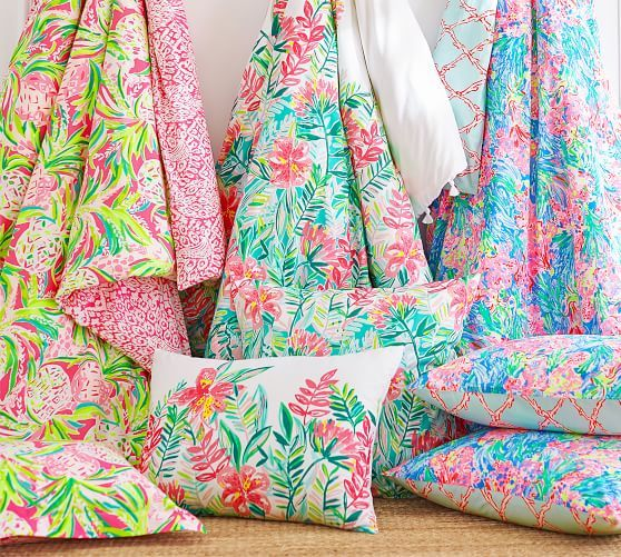 Lilly Pulitzer Jungle Lilly Percale Sham, Standard, Multi