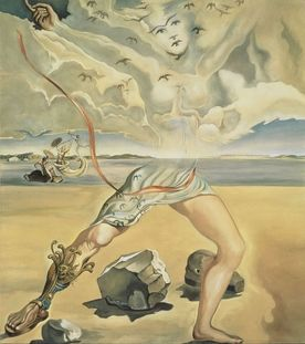Mural painting for Helena Rubinstein 1942 Salvador Dalí