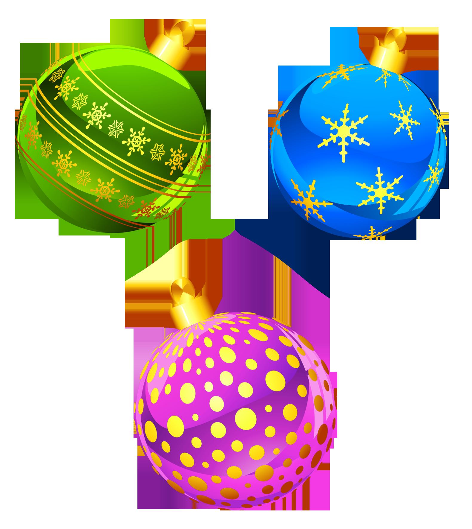 Christmas decorations clipart images - Christmas Ornaments Clip Art