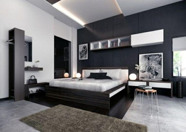 einrichtungsideen frs schlafzimmer modern elegant und gemtlich - Schlafzimmer Einrichtungideen Modern