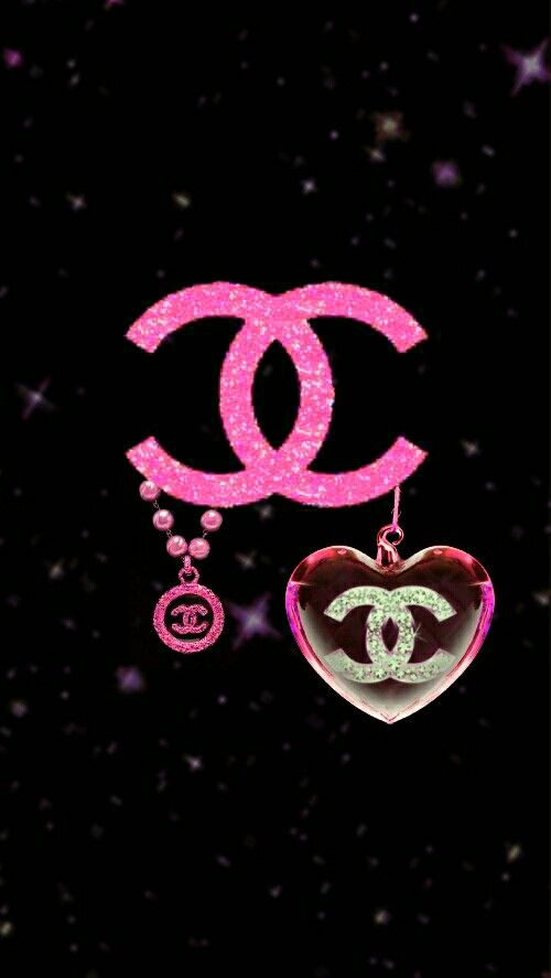 chanel wallpaper i made wallpaper by me edits