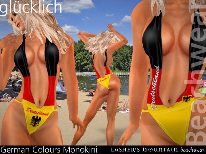 Glucklich German Flag Monokini Click The Pic To Buy Them Now From Sl Market Place Monokini German Flag Swimwear