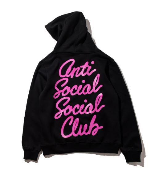 95a151b0c22e Anti Social Social Club Group Hoodie Gotta love the fontface. A design with  a punch.  antisocialsocialclub  assc  hoodies  streetwear  streetwearvilla
