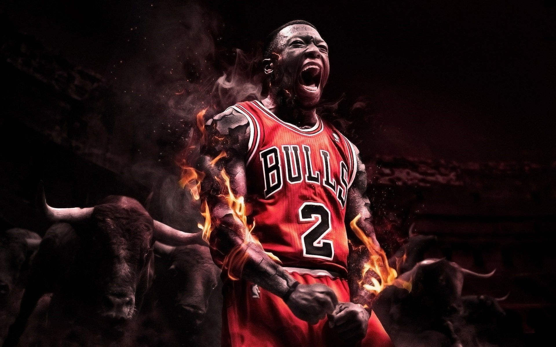 1080px350 Dope Basketball Wallpaper: Chicago Bulls (1920x1200, Bulls) Via Www.allwallpaper.in