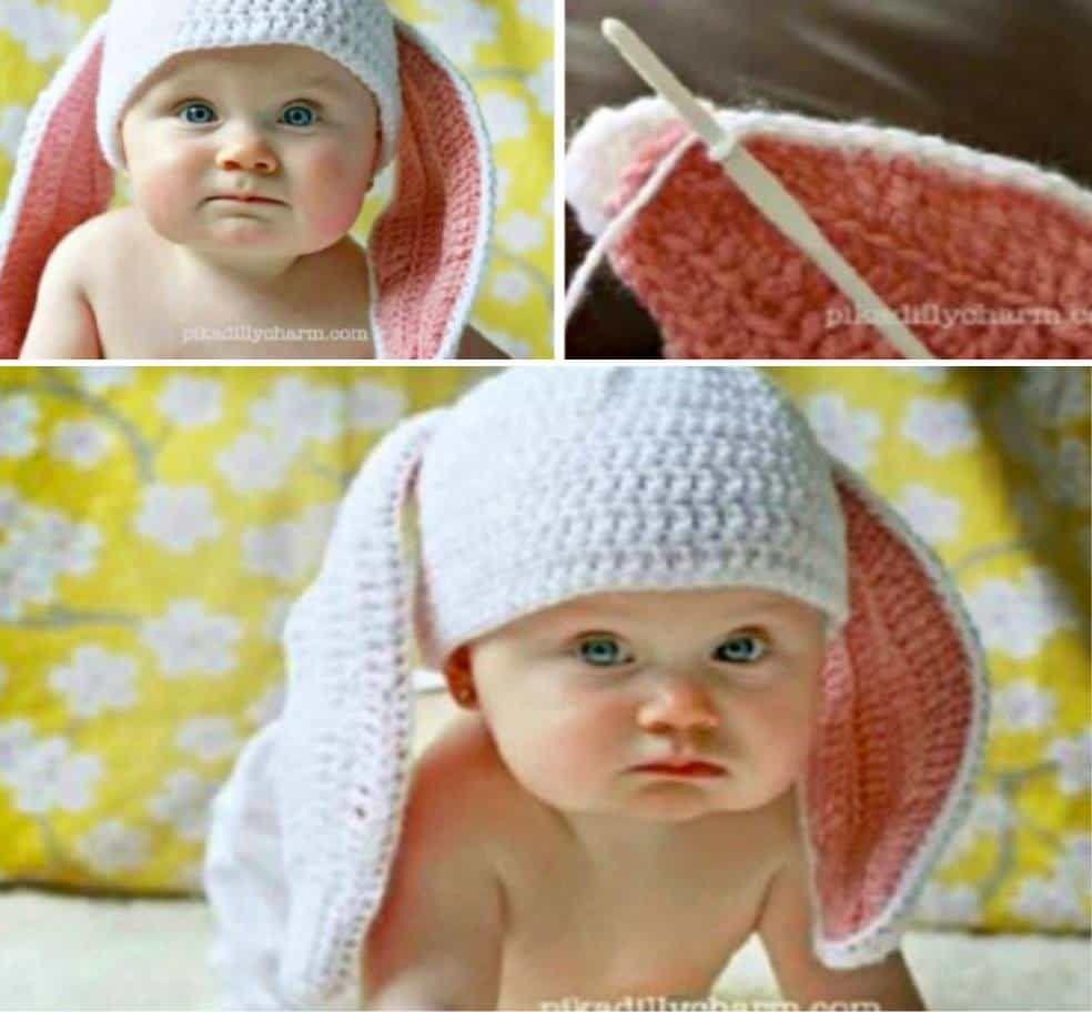 Floppy Bunny Ears Crochet Pattern With Video Tutorial | Bunny ...