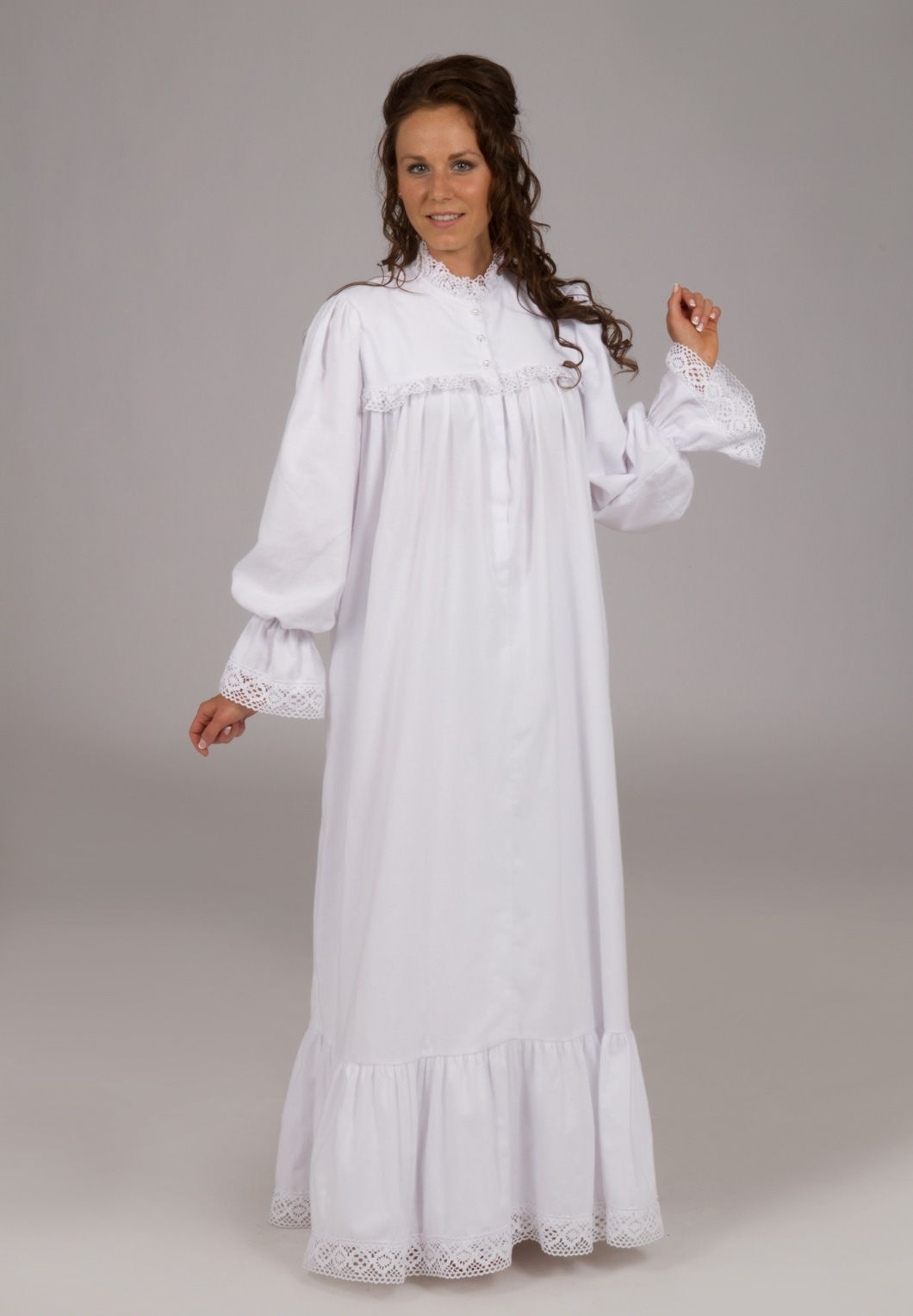 4b0215c74 Peek into the past with this item from Recollections. Flannel Nightgown