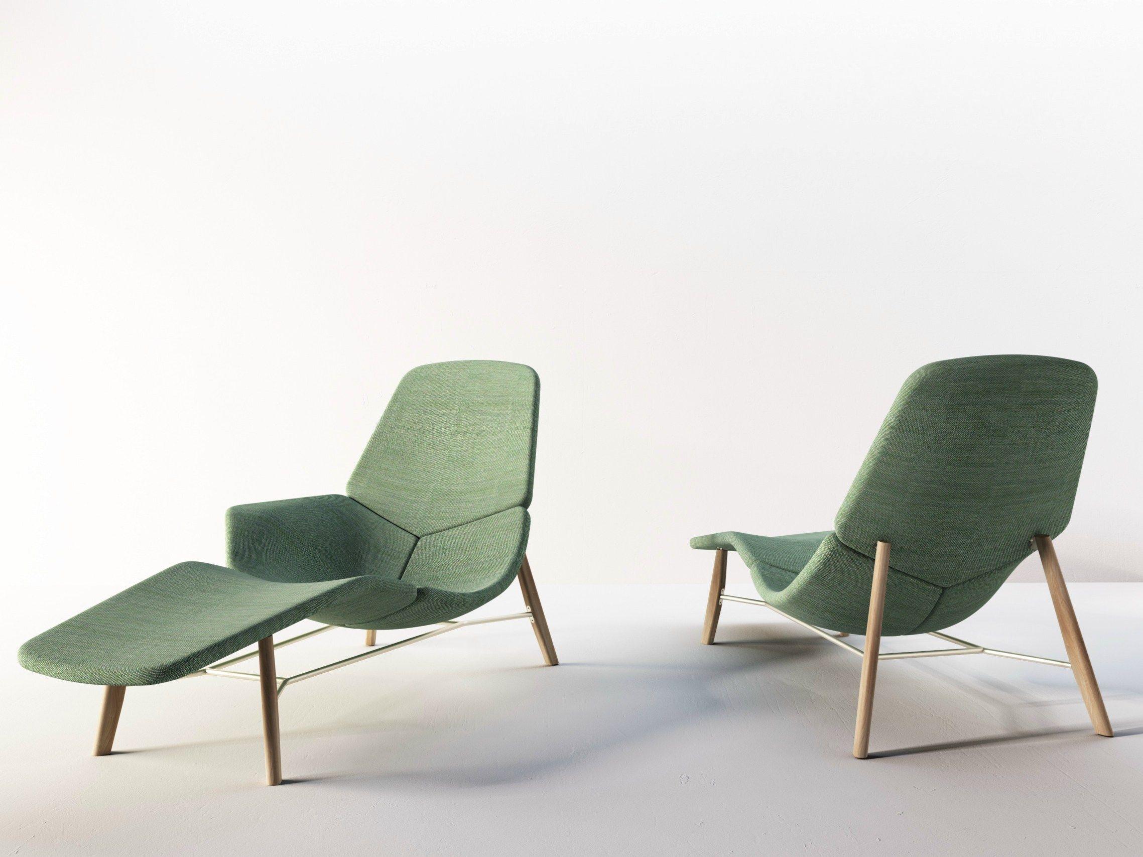 Fabric Lounge Chair Atoll By Tacchini Italia Forniture Design Patrick Norguet Coleccion De Muebles Divan Muebles Terraza