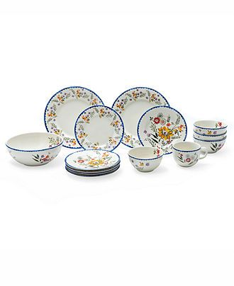 Marcela for Prima Design Dinnerware Scallop Floral Collection | Dishes of all kinds | Pinterest | Dinnerware Floral and Dining  sc 1 st  Pinterest & Marcela for Prima Design Dinnerware Scallop Floral Collection ...