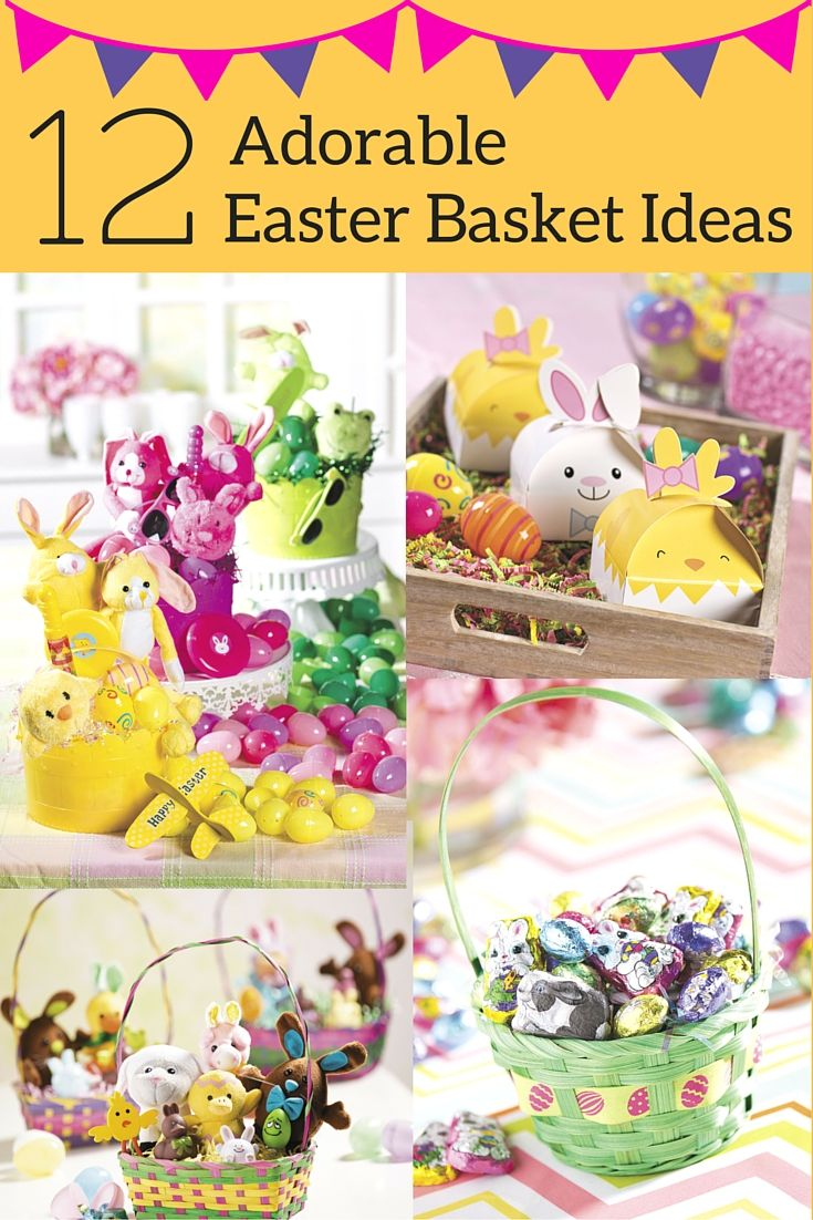 12 ideas to help you create an adorable easter basket for your 12 ideas to help you create an adorable easter basket for your children from big monster truck easter baskets and super hero baskets or tutu easter baskets negle Image collections