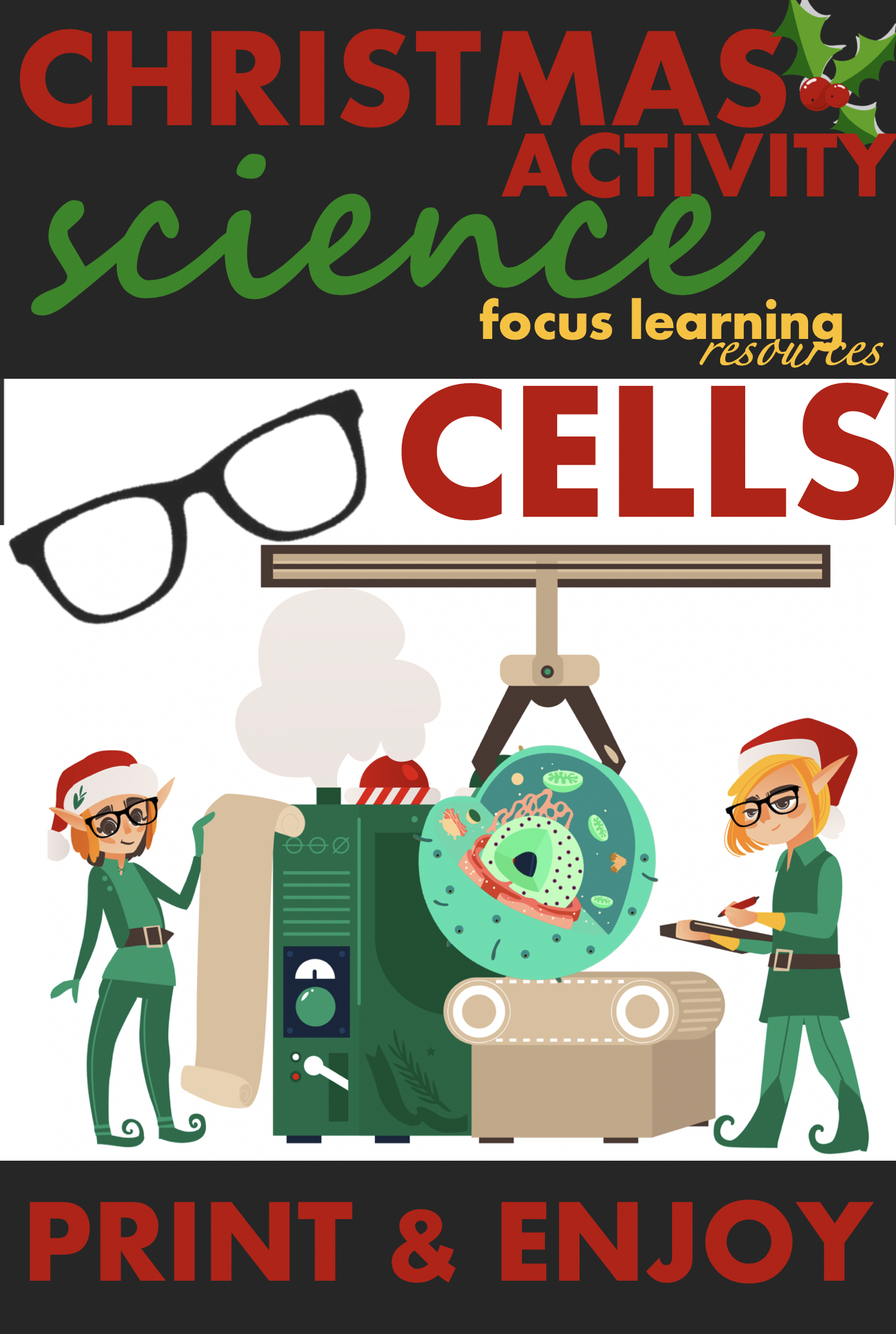 Christmas Science Activity Cells