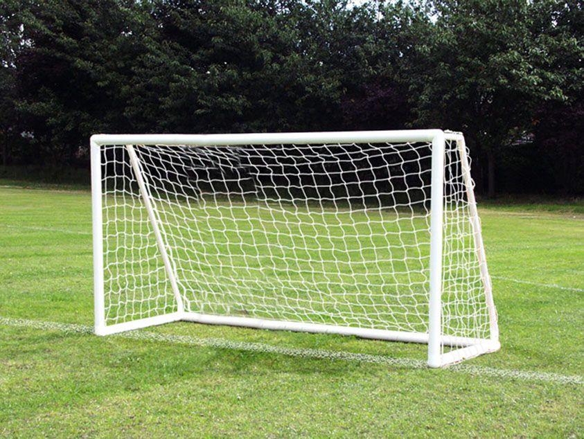Homemade PVC soccer goals