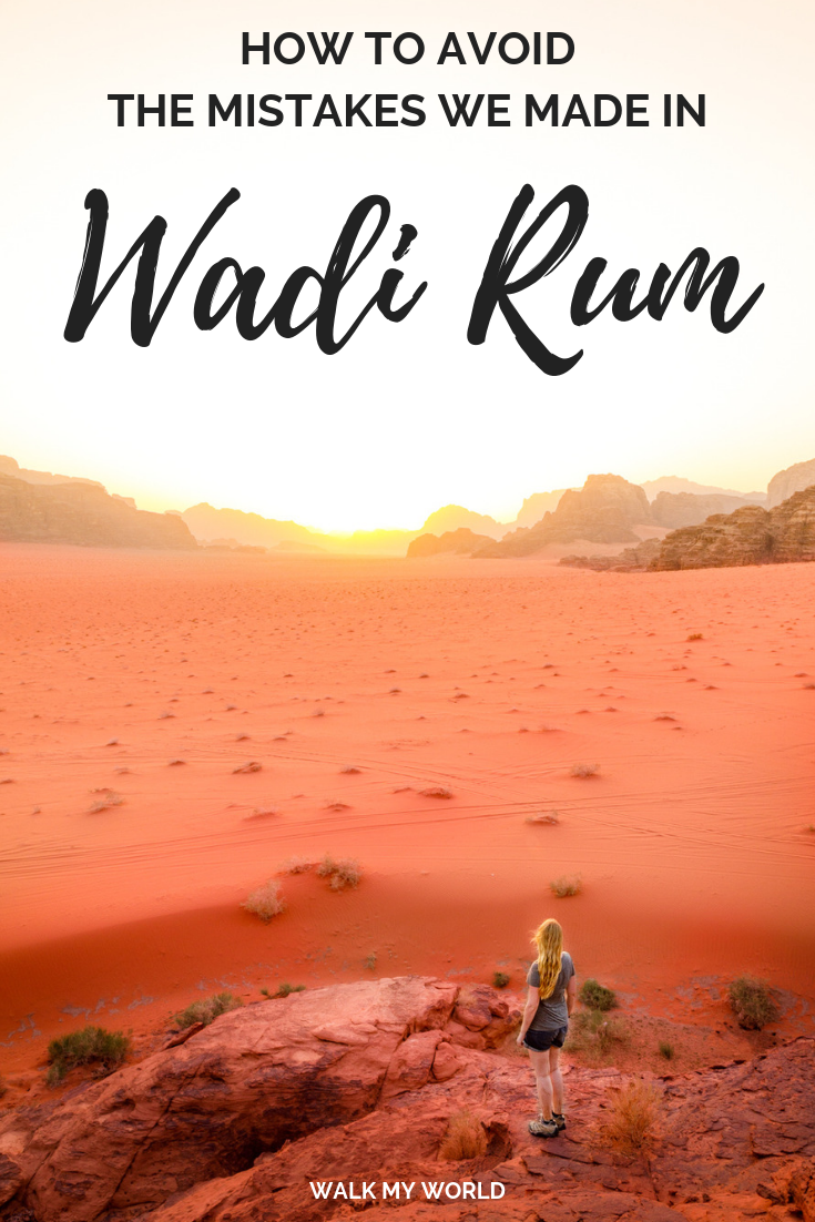 Wadi Rum Tours, Jordan - How to avoid the mistakes we made #wadirum