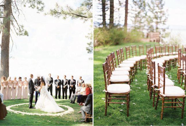 Unique Ceremony Seating Ideas For Outdoor Weddings: Round Ceremony Set-Ups