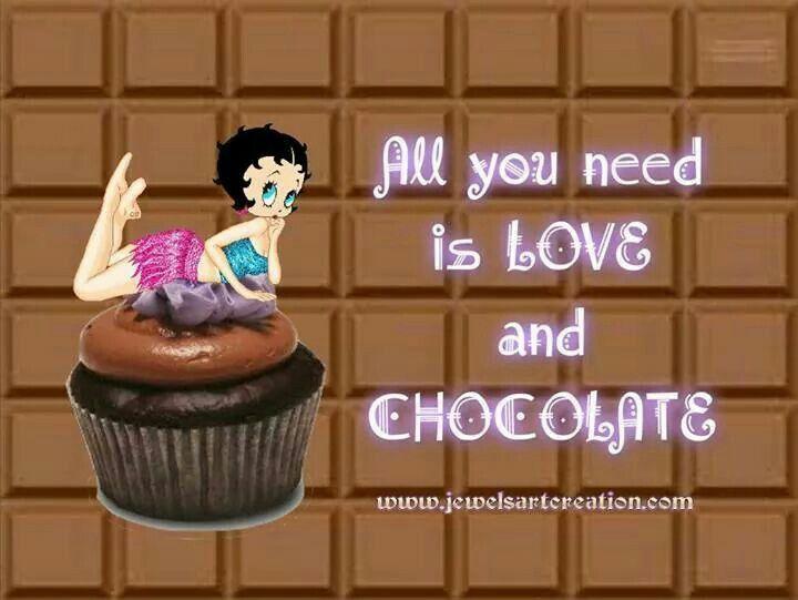 Chocolate boop