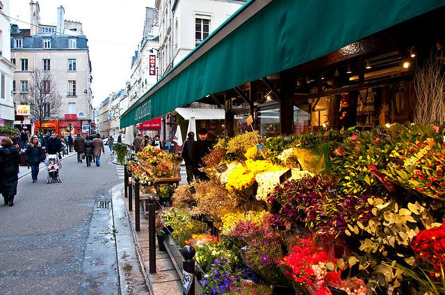 Aquarelle Flower Shop Saint Germain Paris France Paris France