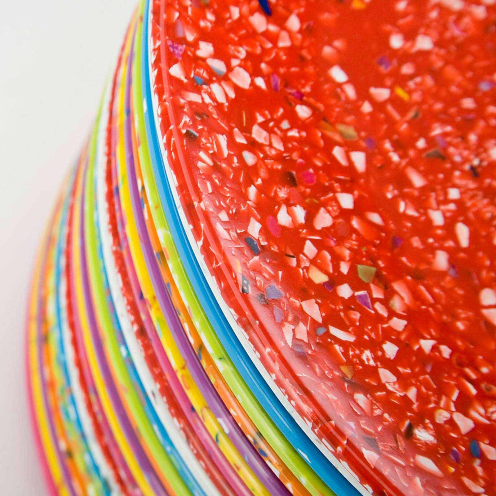 Designs Confetti Salad Plates Set Of 8
