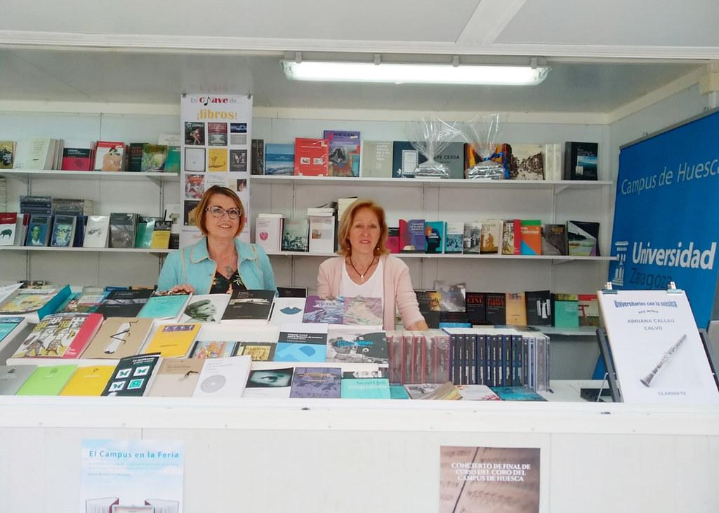 Participación De Las Bibliotecas Del Campus De Huesca Universidad De Zaragoza En La Feria Del Libro De Huesca 2019 Home Decor Desk Decor