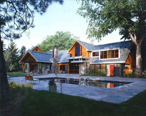 Love This Pool Country Modern Home Country House Design Modern Country