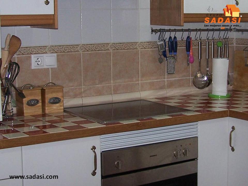 Hogar las mejores casas de m xico el azulejo tambi n es for Cocinas de cemento y azulejo