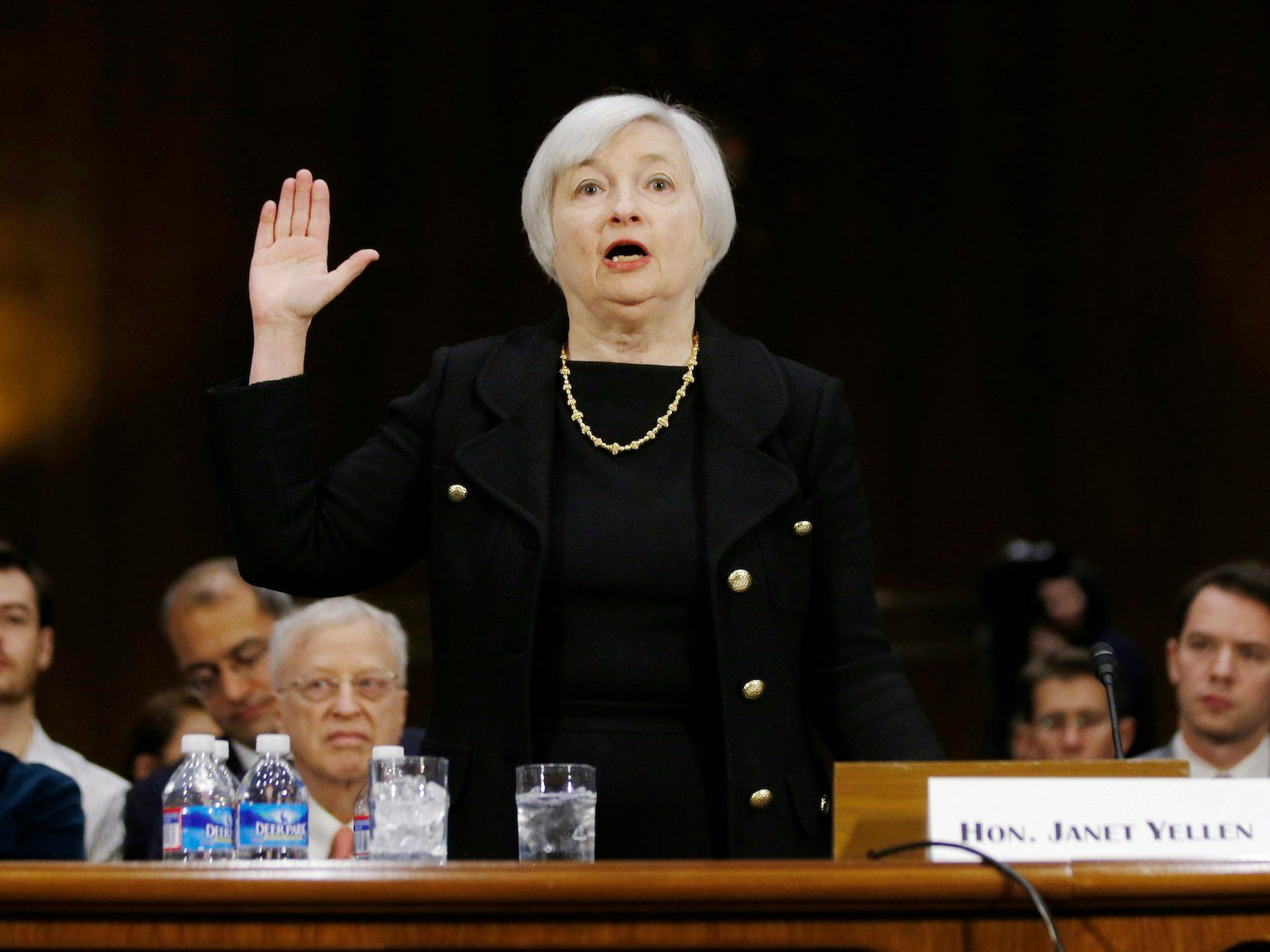 Janet Yellen S Testimony To Senate Banking Committee February 14 Business Insider Janet Yellen Financial Firm Business Insider