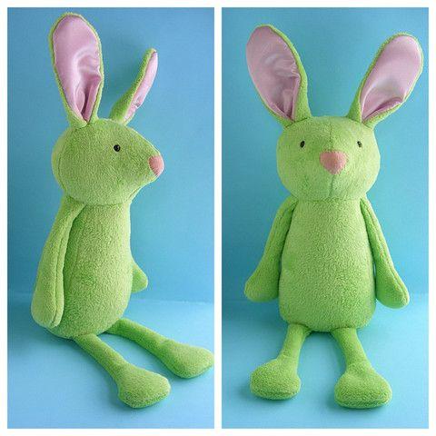 Benson Bunny Softie Pattern