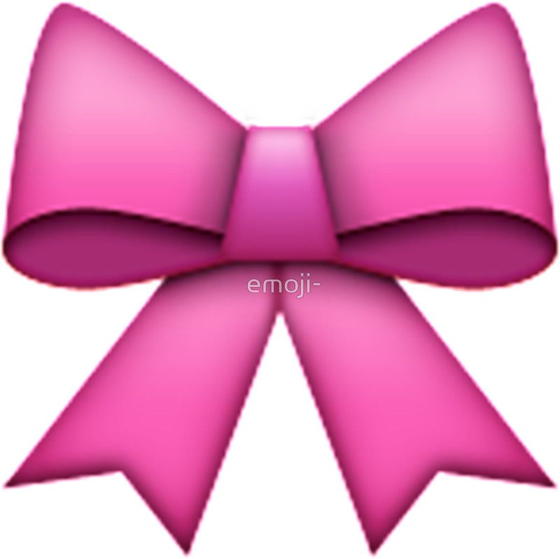 Emoji Pink Bow Rose Emoji Emoji Bows Pink Bow
