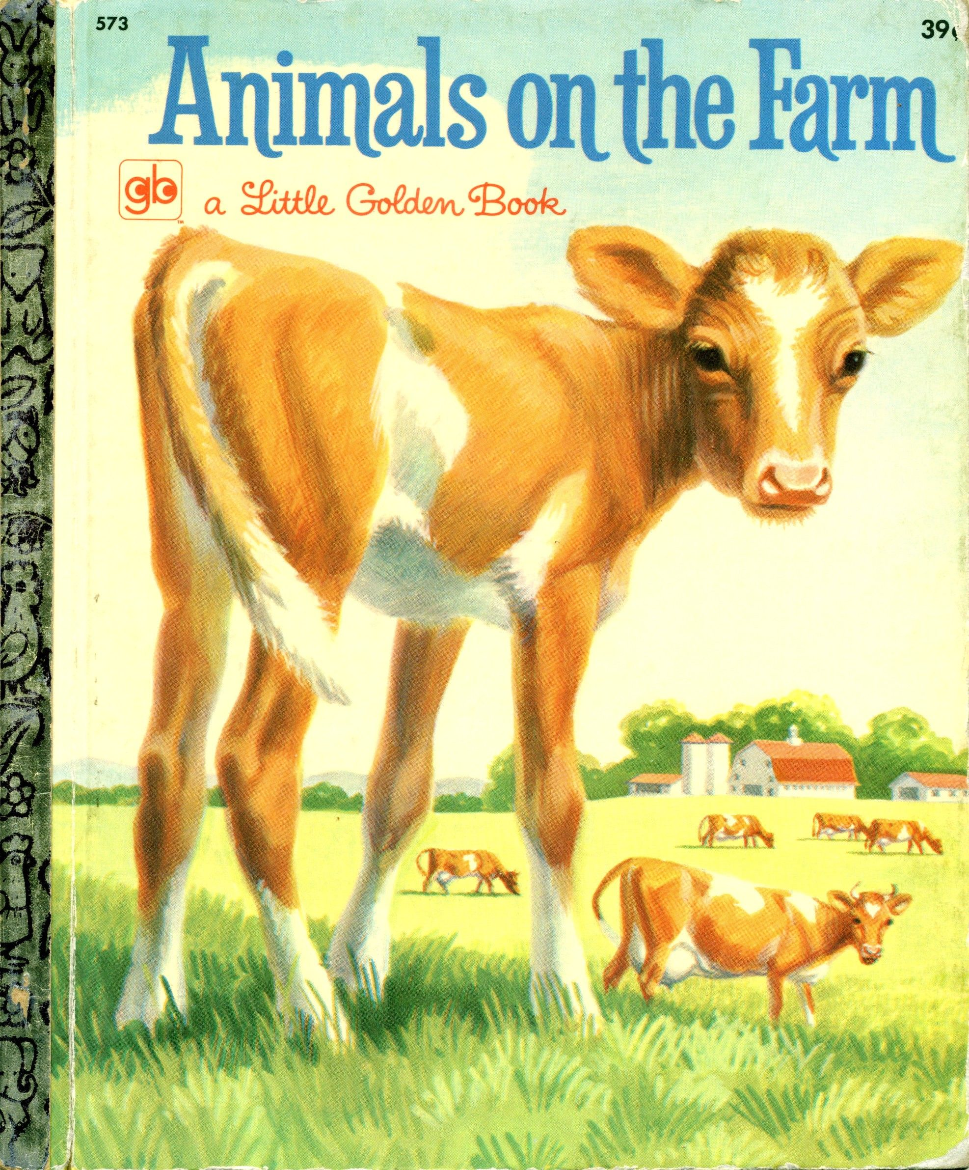 Animals on the farm 1963 1968 3rd printing 1971 by