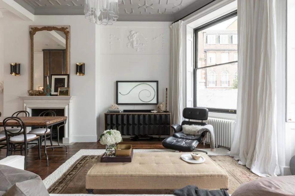 "Квартира ""с картинки"" в Лондоне | Для дома, Дизайн и ..."