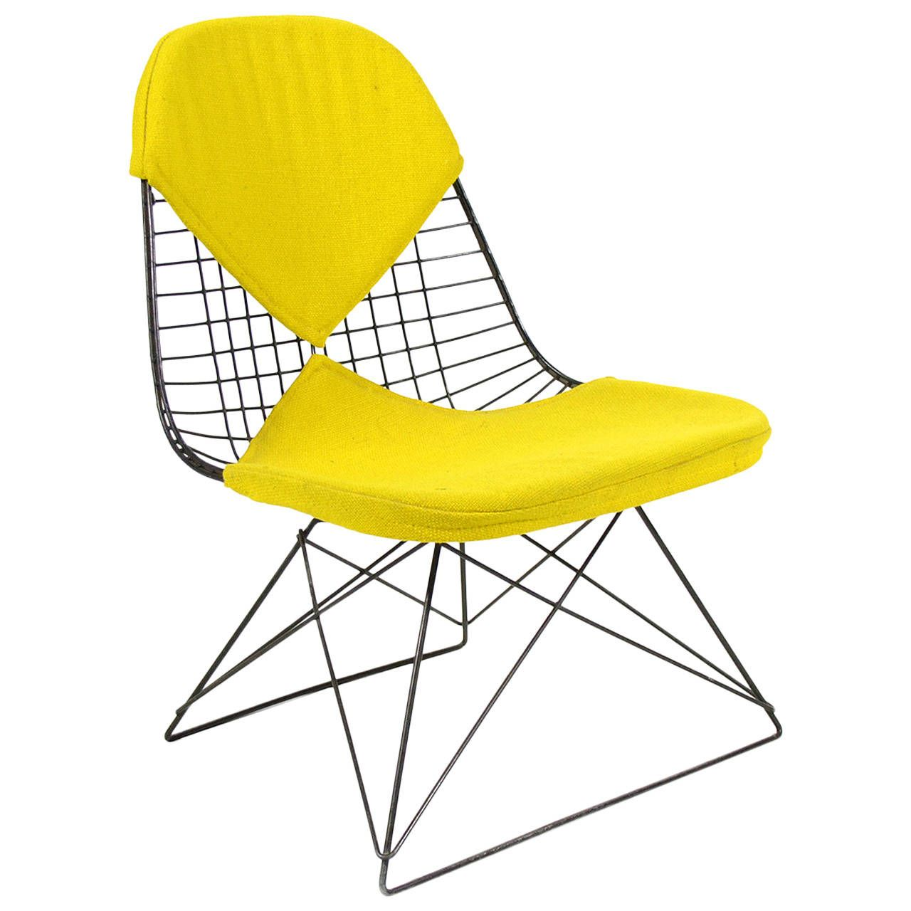 Early Charles and Ray Eames LKR-2 Lounge Chair by Herman Miller | 1stdibs.com