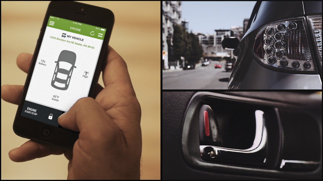 Synchronizing your car with your smartphone. By installing