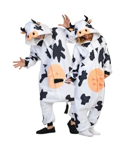 Adult's Cow Costume from Spirit Halloween #catalogspree