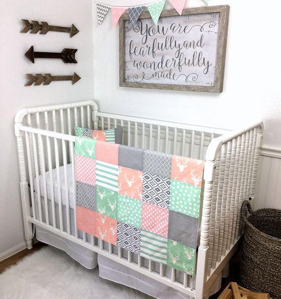 Bunting Banner FlagsNursery DecorAztec NurseryTribal Nursery - Light pink nursery decor