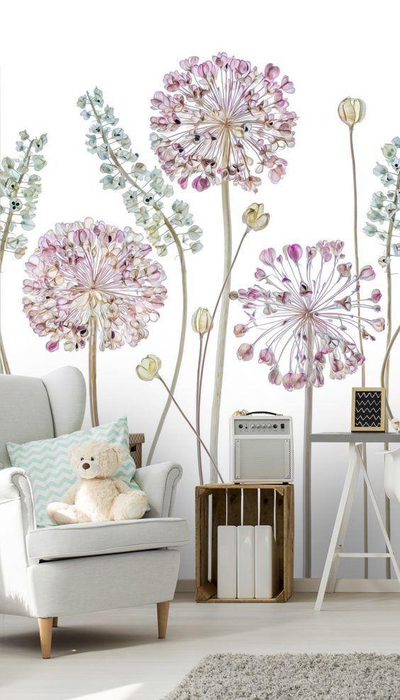 Allium Wallpaper Wallsauce Nz Custom Wall Murals Wall Murals Perfect Wallpaper