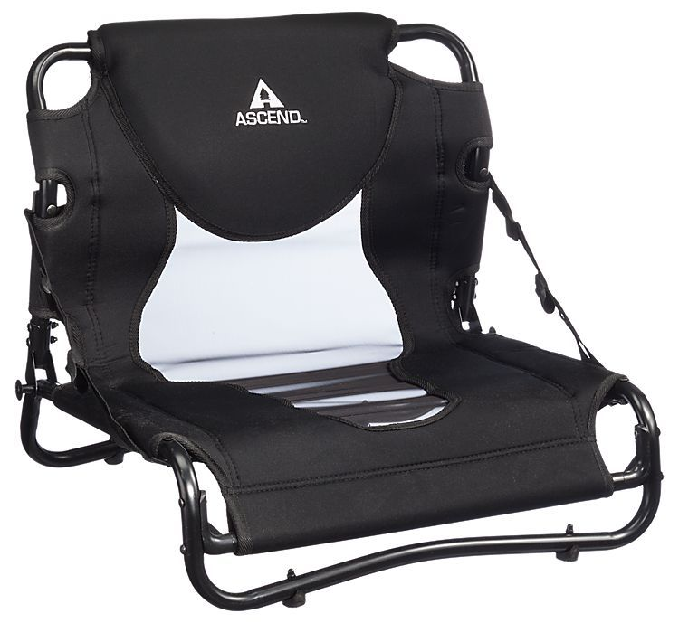 Ascend elite kayak seat for fs12 sit in kayak bass pro for Kayak fishing seats