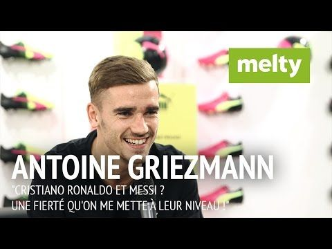 """Griezmann : """"Cristiano Ronaldo et Messi ? Une fierté qu'on me mette à leur niveau !"""" - YouTube"""