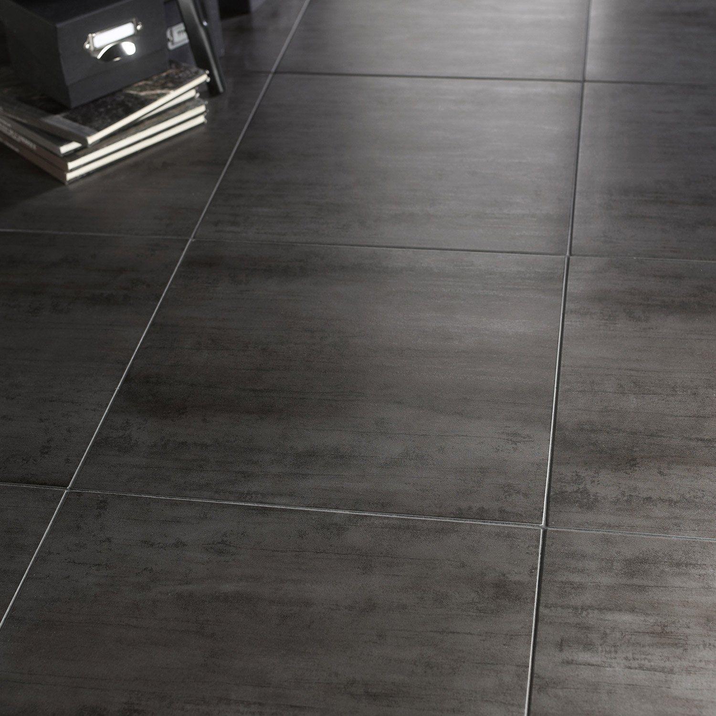 Carrelage gris foncé effet béton | Sol | Pinterest | Gris foncé ...