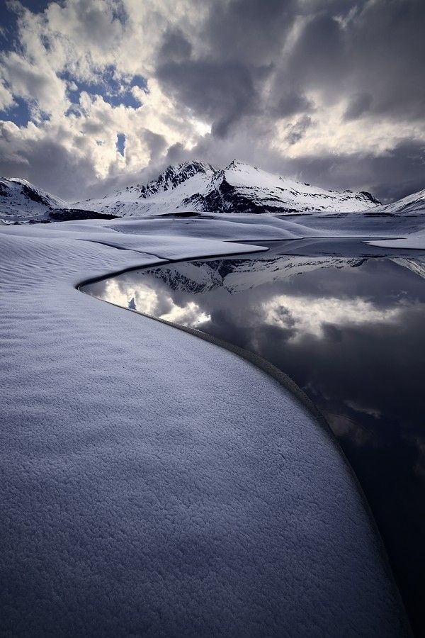 ~~magic winter ~ Mont Cenis, Alps, France by Marco Barone~~