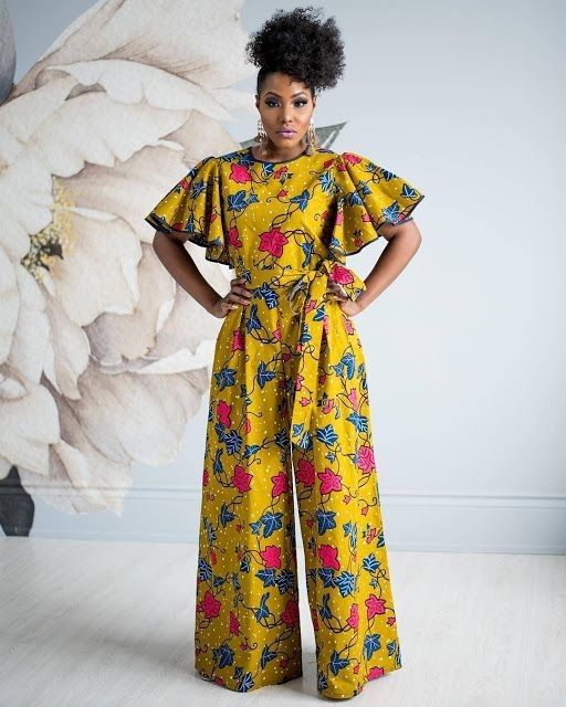 Image result for ankara jumpsuit styles 2019