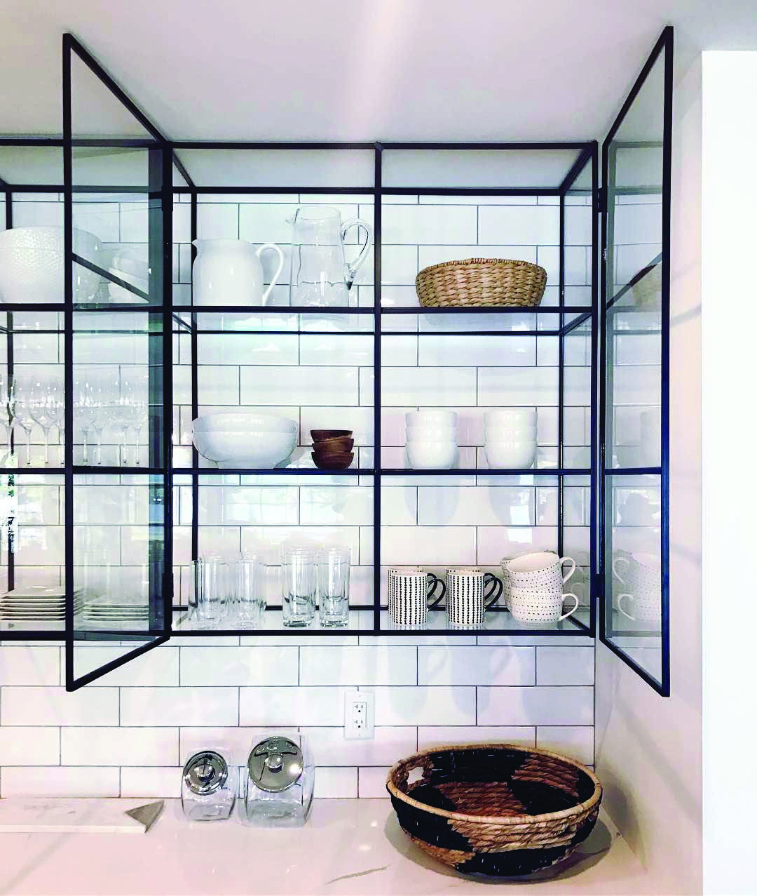 Fresh Metal Kitchen Cabinets Used On This Favorite Site Glass Kitchen Cabinets Metal Kitchen Cabinets Glass Shelves Kitchen