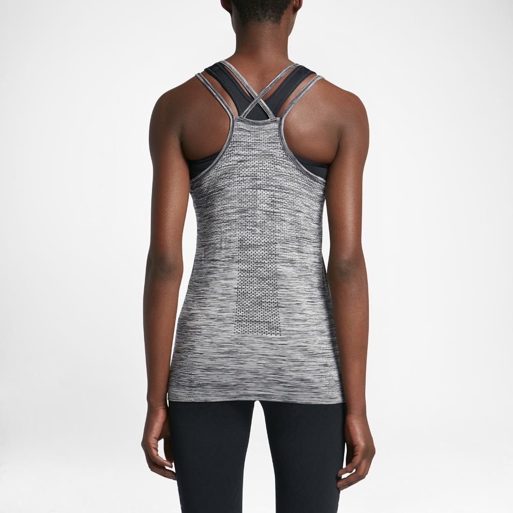 7c0b3a4290 Nike Dry Knit Women's Running Tank Size Medium (Grey) - Clearance ...
