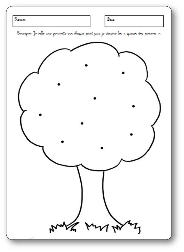 Fiches Sur Les Pommes Pour Des élèves De Maternelle Activités Pomme
