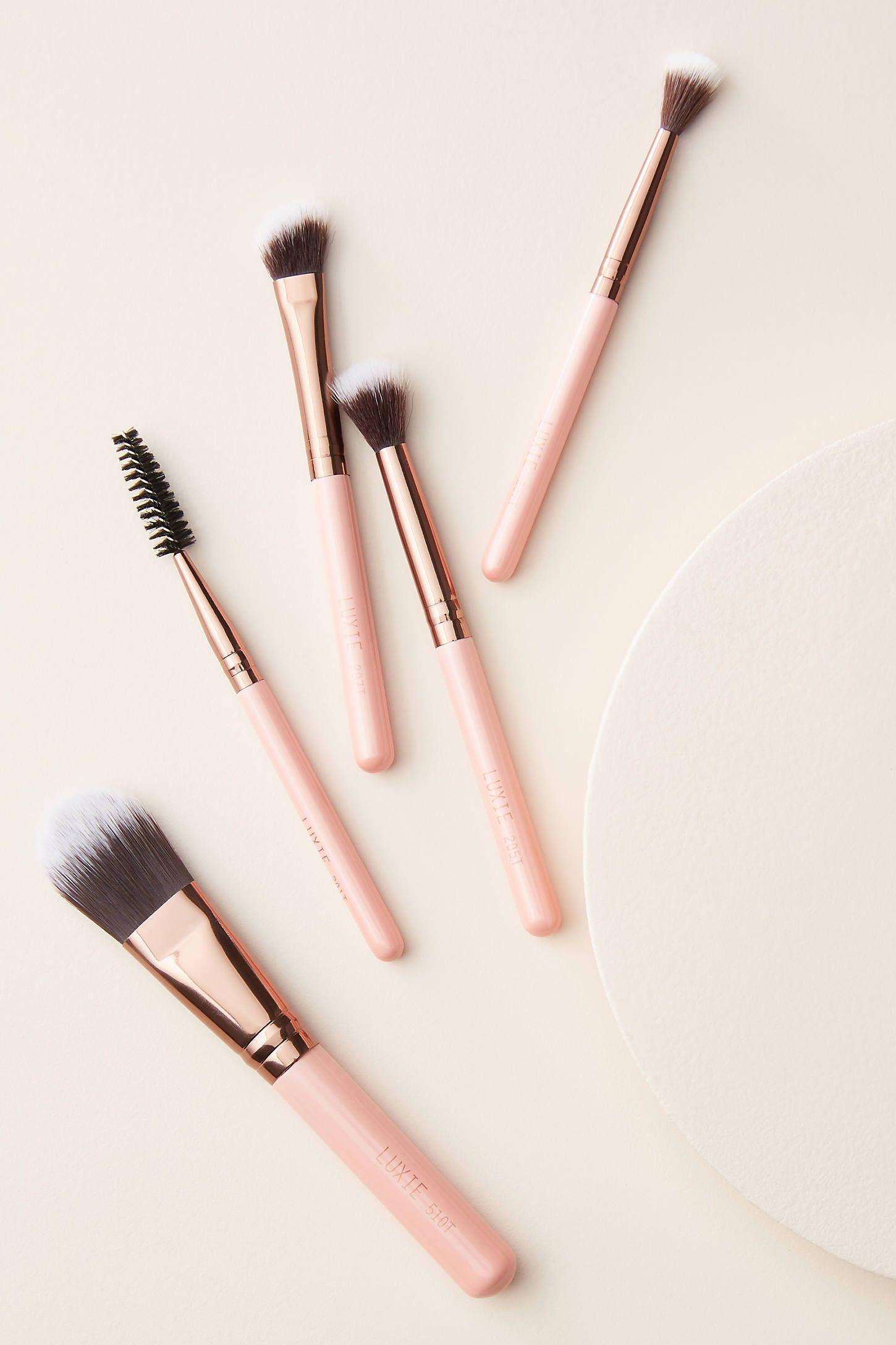 Luxie Travel Brush Set in 2020 Brush set, Makeup brush