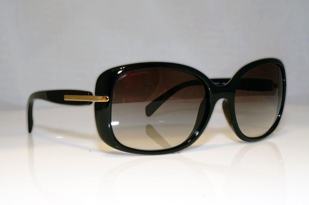 2a0bfdc01b9 eBay  Sponsored PRADA Womens Designer Sunglasses Black Butterfly SPR 08O  1AB-0A7 17410