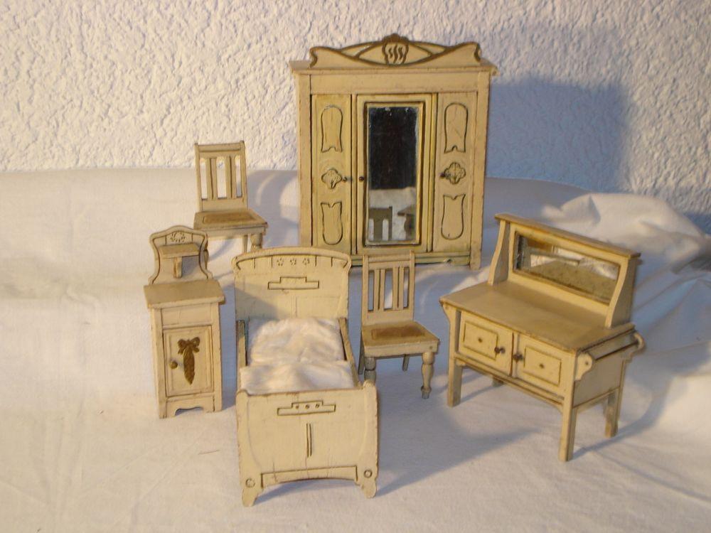 Antikes Schlafzimmer von Moritz Gottschalk um 1900, viele Teile ...