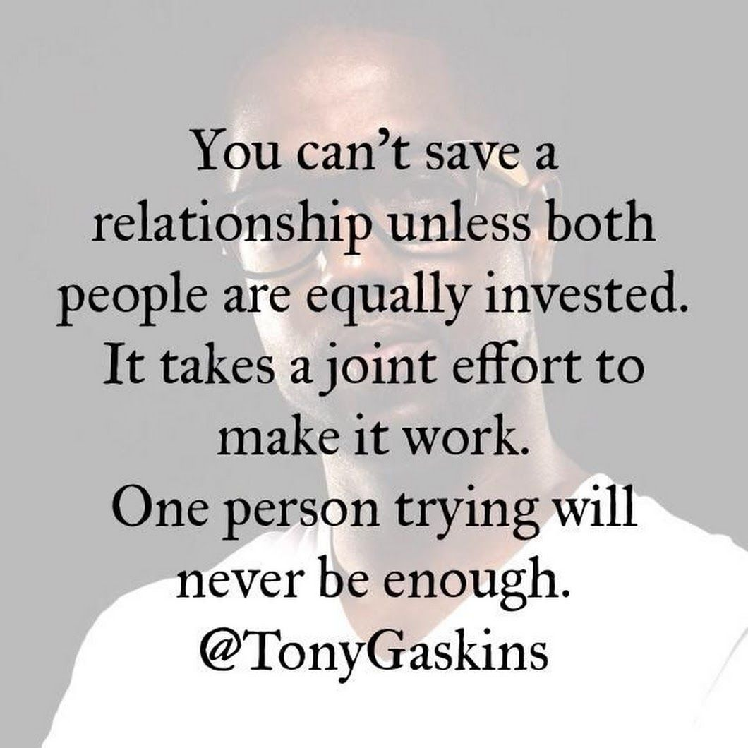 Image: It Takes Two To Make A Relationship Work Quotes   Best