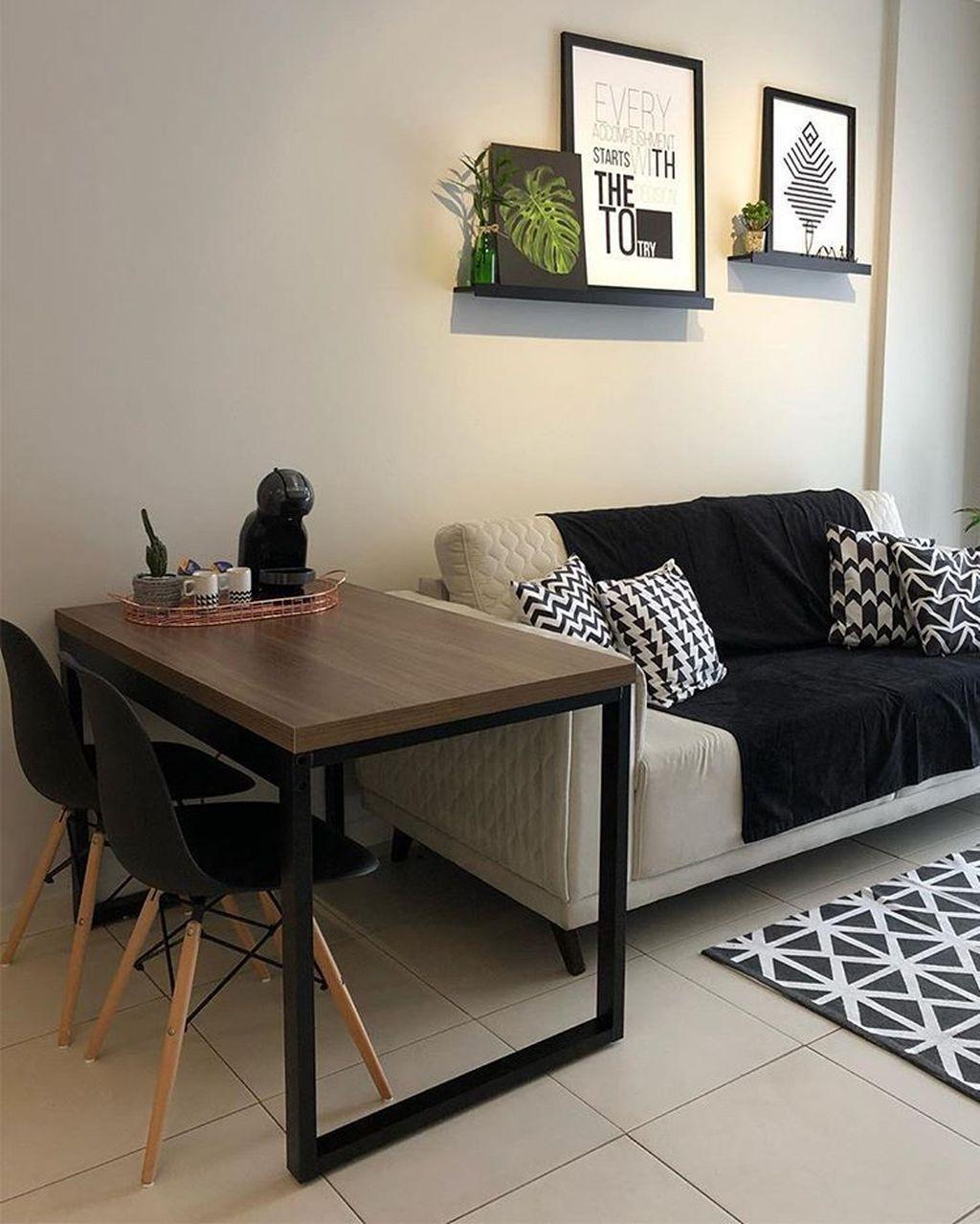 34 Nice Simple Apartment Decoration Ideas