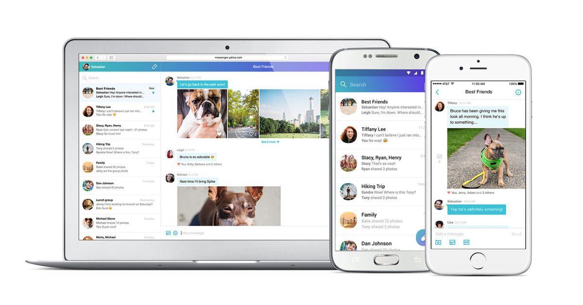 Yahoo Messenger is back — as a messaging app Yahoo