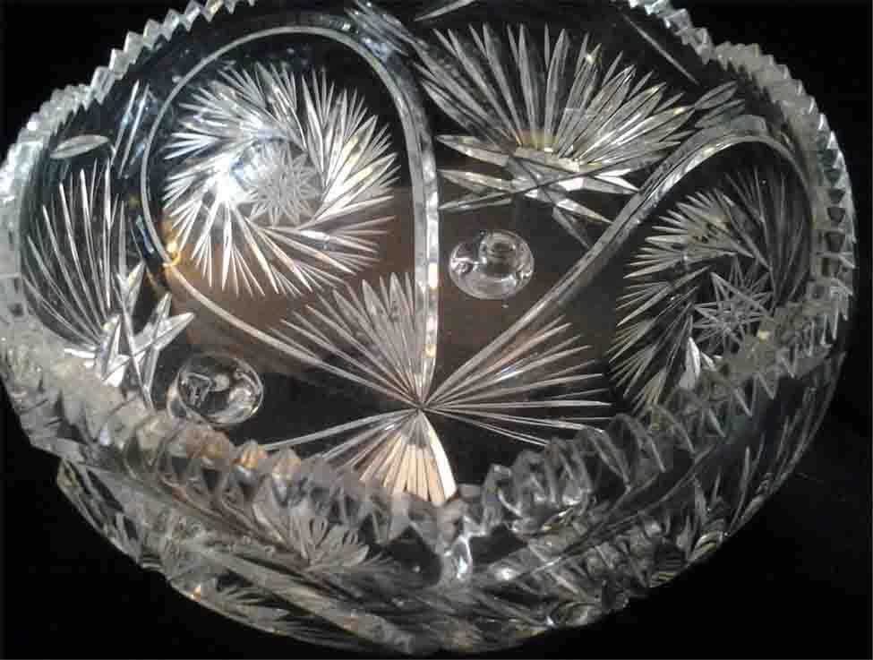 Pinwheel Crystal Bowl Pinwheels Crystals Crystal
